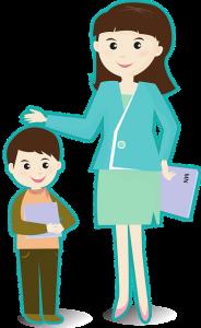 女性の日本語教師